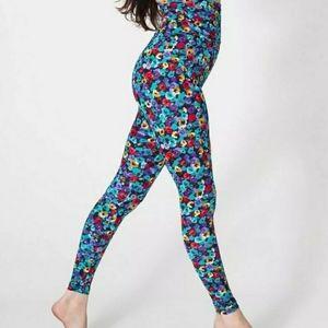 American Apparel floral leggings